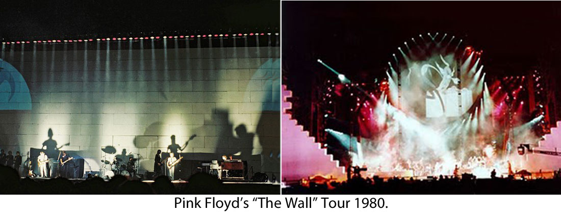 Pink Floyd Multiscreen Projection Mapping