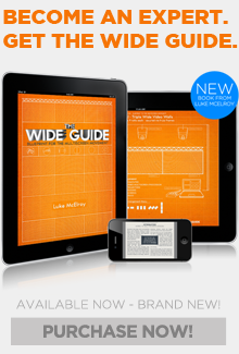 Available Now! The Wide Guide by Luke McElroy