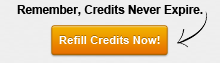 Credits Never Expire