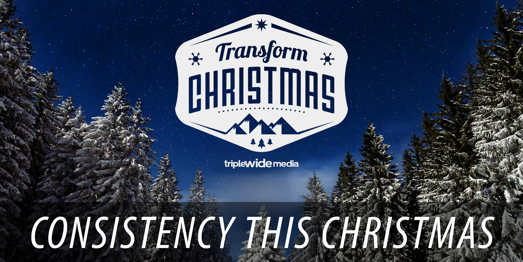 Consistency this Christmas