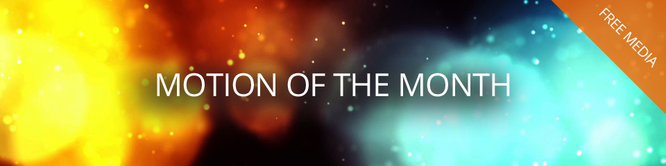 Free Motion of the Month – April 2018 - TripleWide Media