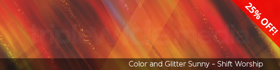 Color and Glitter Sunny | TripleWide Media