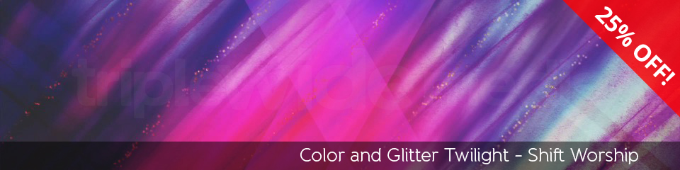 Color and Glitter Twilight | TripleWide Media