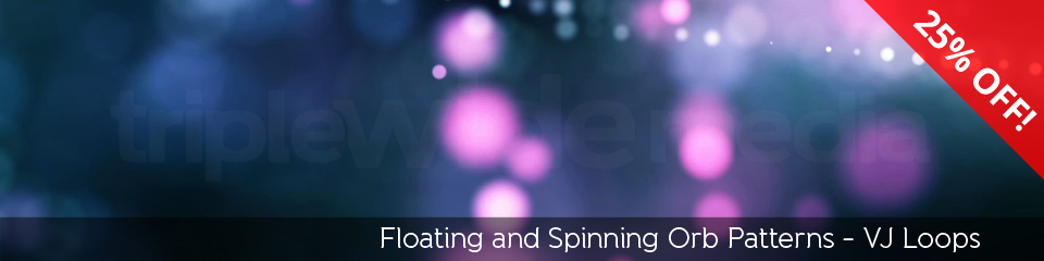 Floating and Spinning Orb Patterns | TripleWide Media
