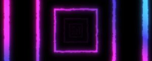 Live Events Stock Media - Tunnel Square Pink Blue