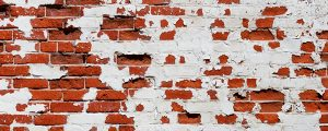 Live Events Stock Media - Red Brick and White Paint