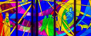 Live Events Stock Media - Stained Glass Nativity-1