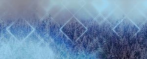 Live Events Stock Media - Winter Trails 2 Blue Still