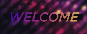 Live Events Stock Media - Cosmic Glow Welcome