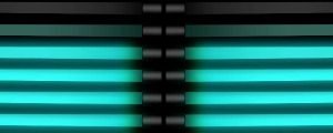 Live Events Stock Media - Simulated Blue Neon Tubes 2