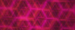 Live Events Stock Media - Triangle Glass Pink Still