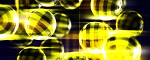 Live Events Stock Media - Orbs Yellow