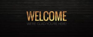 Live Events Stock Media - Wooden Glow Welcome