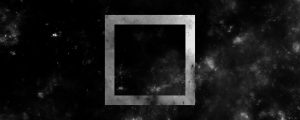 Live Events Stock Media - Space Upward Scroll BW Square