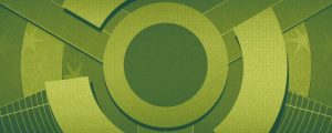 Live Events Stock Media - Spinning Circles Green