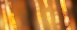 Live Events Stock Media - Yellow & Orange Blurred Bokeh Strands