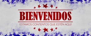 Live Events Stock Media - USA Holiday Grunge Welcome Spanish