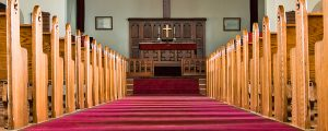 Live Events Stock Media - Church Aisle