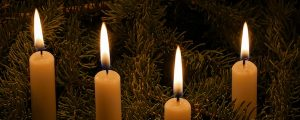 Live Events Stock Media - Row of Christmas Candles