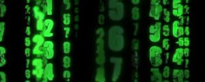 Live Events Stock Media - Falling Green Numbers (Matrix Style)