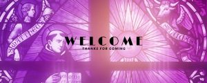 Live Events Stock Media - Church Light Welcome Still