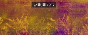 Live Events Stock Media - Colorful Nature Announcements