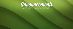 Live Events Stock Media - Emerald Waves Announcements