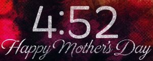 Live Events Stock Media - Painted Flowers Mother's Day Countdown