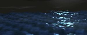 Live Events Stock Media - 3D Deep Blue Water Waves.