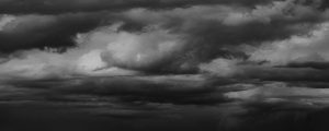 Live Events Stock Media - Rain Clouds BW