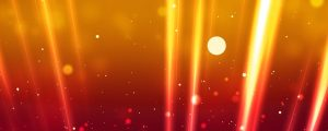 Live Events Stock Media - Orange Light Beams