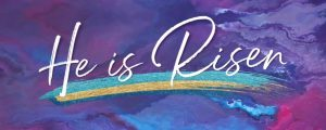 Live Events Stock Media - Painted Easter He Is Risen