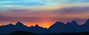 Live Events Stock Media - Teton Sunset