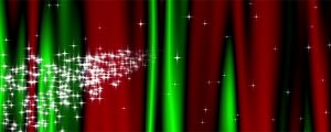 Live Events Stock Media - Starry Curtain Loop - Christmas Colors