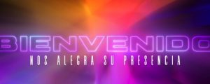 Live Events Stock Media - Prism Glow Spanish Welcome