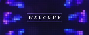 Live Events Stock Media - Pixel Glass Welcome