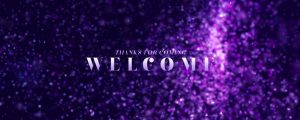 Live Events Stock Media - New Year Glitter Welcome