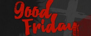 Live Events Stock Media - Watercolor Good Friday Title
