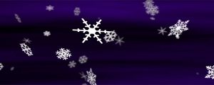 Live Events Stock Media - Snowflakes Deep Purple Loop