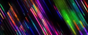 Live Events Stock Media - Rainbow Triangles Strobe Still