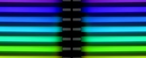 Live Events Stock Media - Rainbow Neon Tubes 02