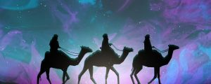 Live Events Stock Media - Painted Christmas Wise Men