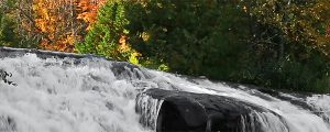 Live Events Stock Media - Lower Bond Falls Autumn Cascade