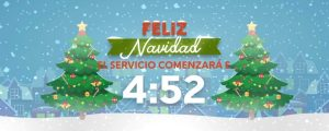 Live Events Stock Media - Christmas Village Countdown Spanish