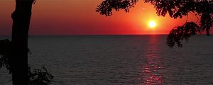 Live Events Stock Media - Lake Michigan Sunset