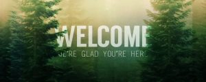 Live Events Stock Media - Calming Nature Green Welcome