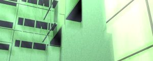 Live Events Stock Media - Glowing White & Green Grid Structure