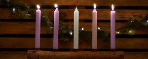 Live Events Stock Media - Country Advent Peace Candles