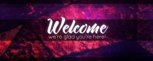 Live Events Stock Media - Stained Glass Welcome