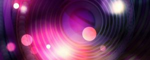 Live Events Stock Media - Glowing Pink, Purple & White Bokeh Orbs